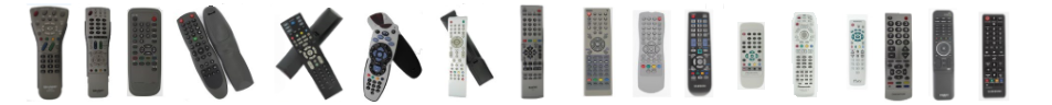 remotes line up